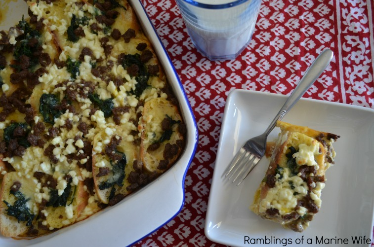 Cheesy Layered Egg Breakfast Casserole Nothing But Room