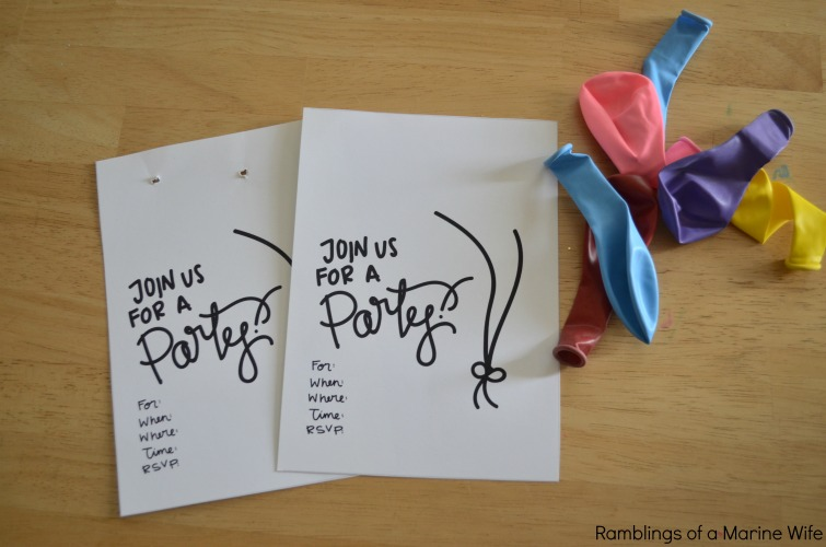 diy birthday party balloon decorations and favors nothing but room