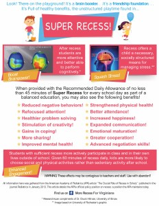 Super Recess Flyer