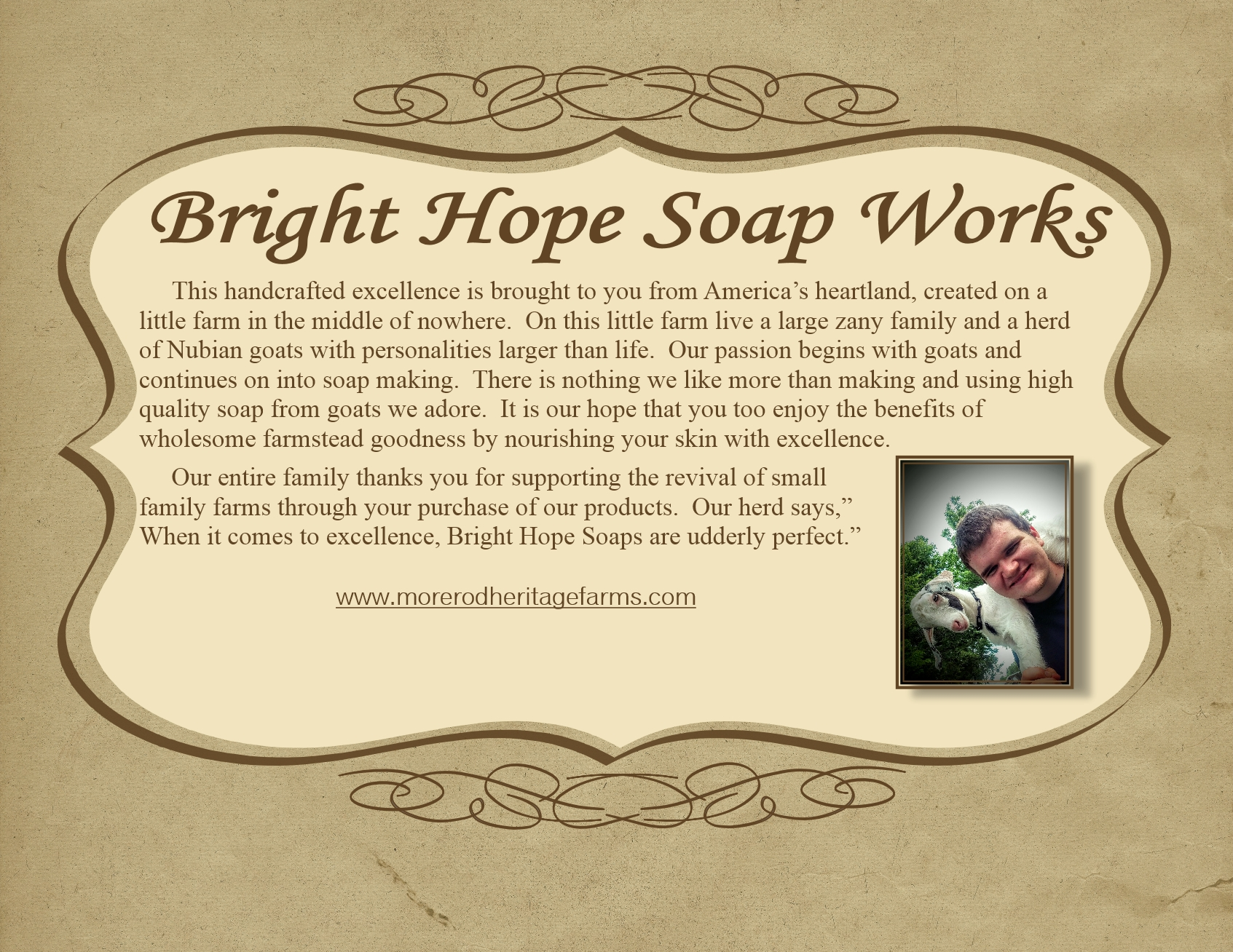 Learn about Bright Hope Soaps