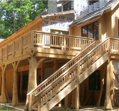 Timber Stairs Handrails Interior And Exterior Custom Built By   Outdoor Timber Stairs Design   Pinterest   Outside Entrance Stair   Basic Outdoor   Different Style   Rustic Timber