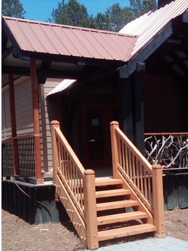 Timber Stairs Handrails Interior And Exterior Custom Built By   Outdoor Wooden Handrails For Steps   Stair Treads   Deck Stairs   Wrought Iron   Staircase   Brick