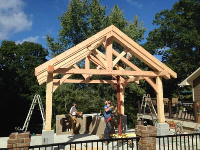 Timber Frame Outbuildings Carports Outdoor Kitchens Amp More
