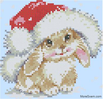 Зимний зайчишка
