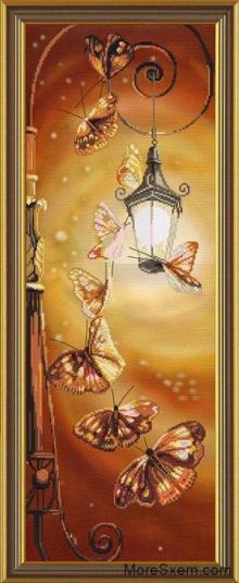 Фонарь бабочки