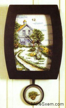 часы из набора dome