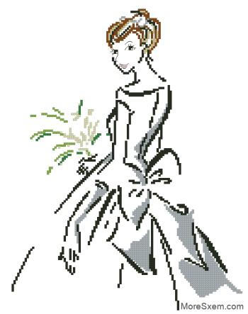 Невеста с бантом