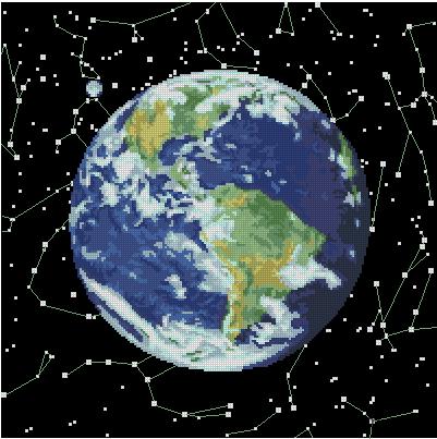 Земля и созвездия