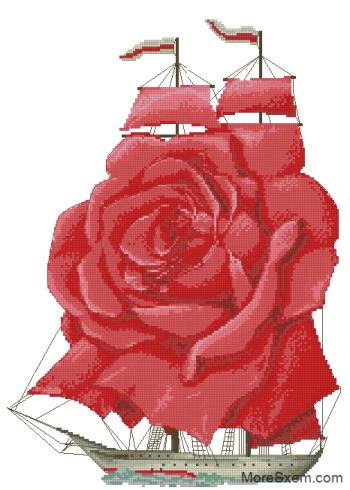 Алые паруса (роза)