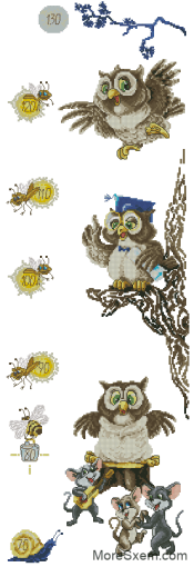 Ростомер с совами