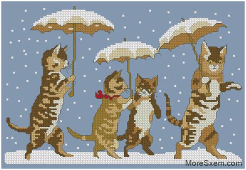 Прогулка под снегом