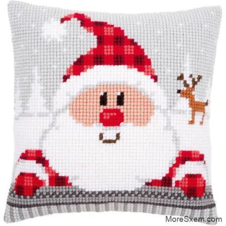 """Подушка """"Санта"""""""