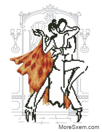 Танец в оранжевом