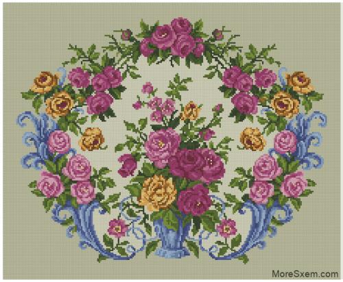Старинные цветы