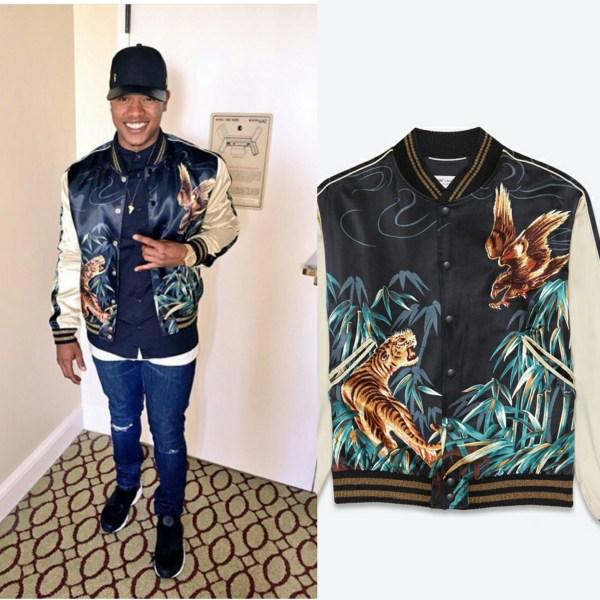 STYLE: MLB Marcus Stroman's Instagram Saint Laurent TEDDY Jacket