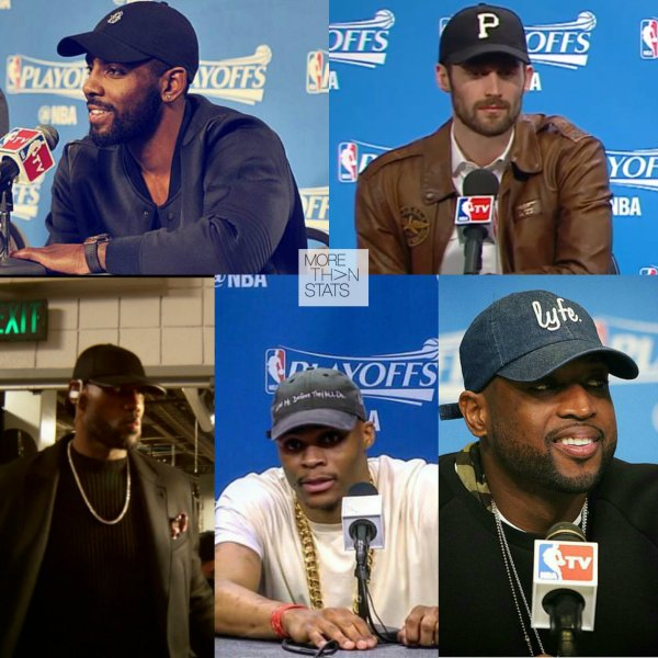 "Trend: NBA Stars In Classic Sports Caps ""Dad Hats"""