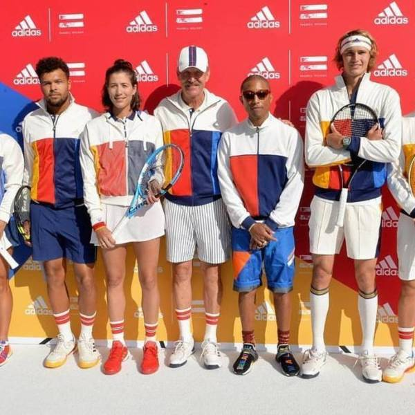 "US Open 2017 Adidas Tennis By Pharrell Willams Collection & ""Don't Be Quiet Please"" Campaign"