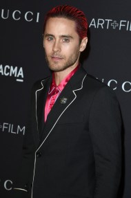 Jared-Leto-2015-Style-Pink-Hair-Silk-Gucci: thefashionisto.com