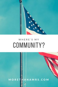 Where's My Community? Making Friends on a Military Base.