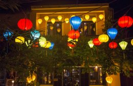 Hoi An nightlife and colourful lanterns