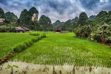 Quang Uyen Village in Northern Vietnam