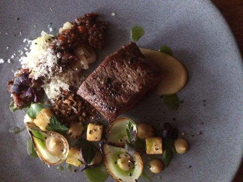 Gourmet Food at La Mouette in Cape Town