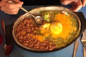 Huevos Rancheros at Tia Sophia's