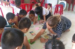 Teaching English to kids in Vietnam