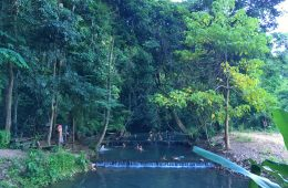 Hot Springs in Pai, Thailand