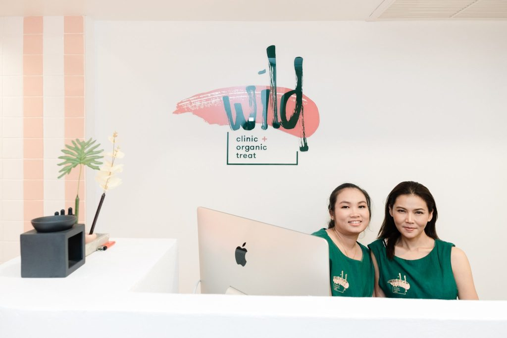 Bangkok's Wild Clinic Reception