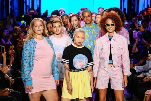 Hayley Elsaessr at Toronto Fashion Week Day Three
