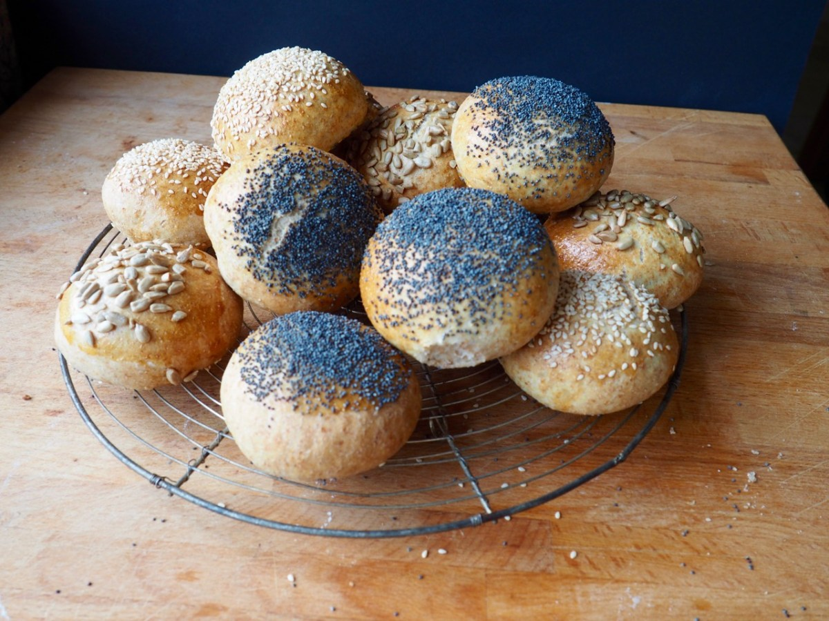 Bread Rolls by More Than Just Carrots