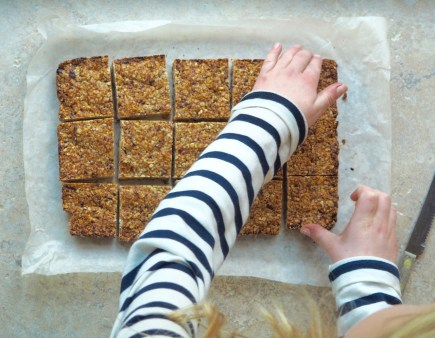 granola bars by More Than Just Carrots