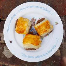 vegetarian sausage rolls from More Than Just Carrots