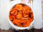 Sweet potato crisps by Severien Vits