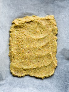 Celery and apple crackers from More Than Just Carrots