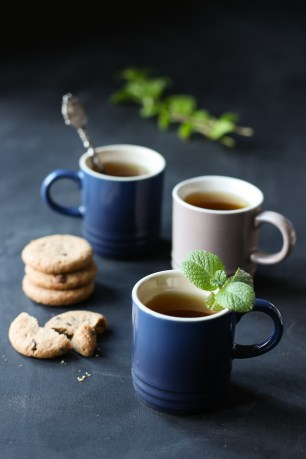 3 little cups with mint_tea-from more than just carrots