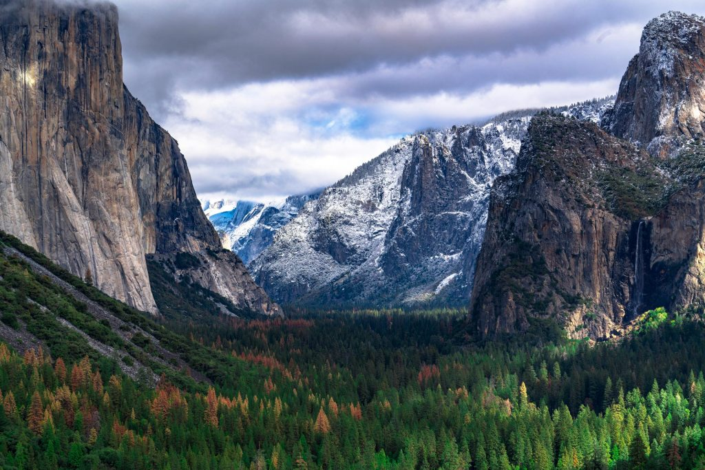 us national parks ranked, yosemite valley