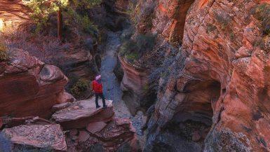 pine creek gorge slot canyon