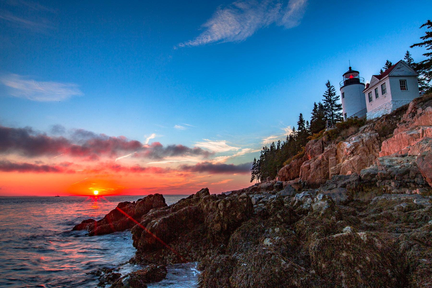acadia national park bass harbor lighthouse