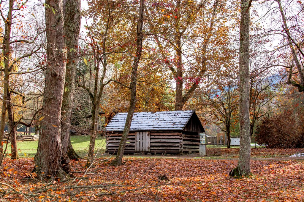 Historic Cabin in Great Smoky Mountains