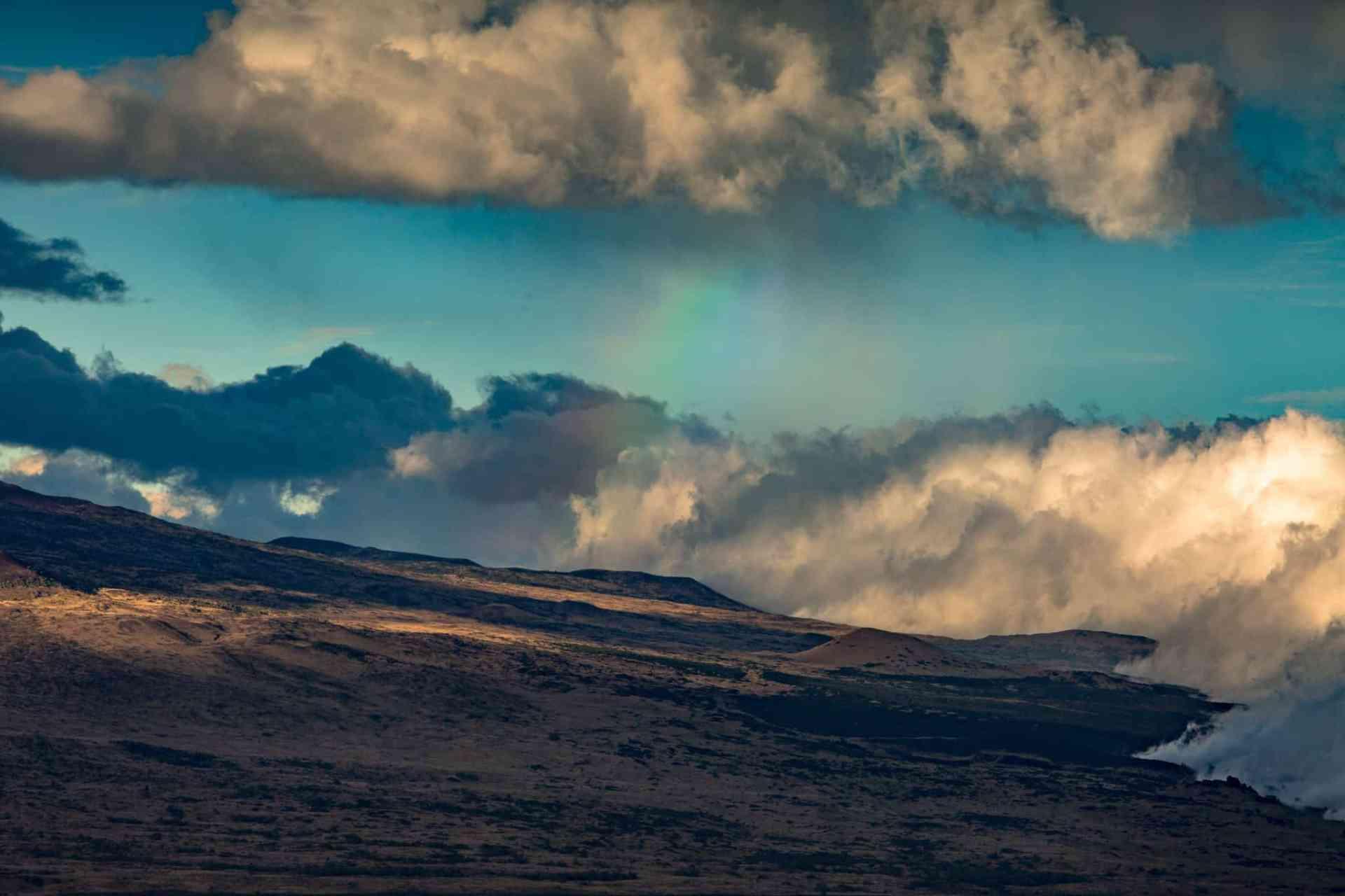 Winter in Hawaii Volcanoes National Park