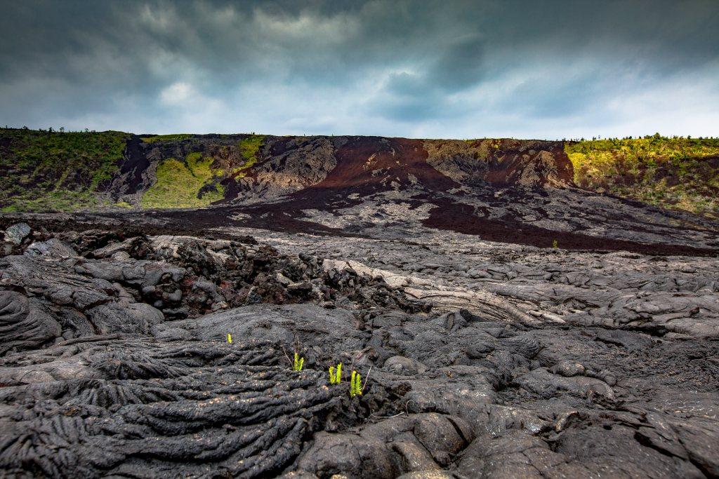 lava field hawaii volcanoes national park