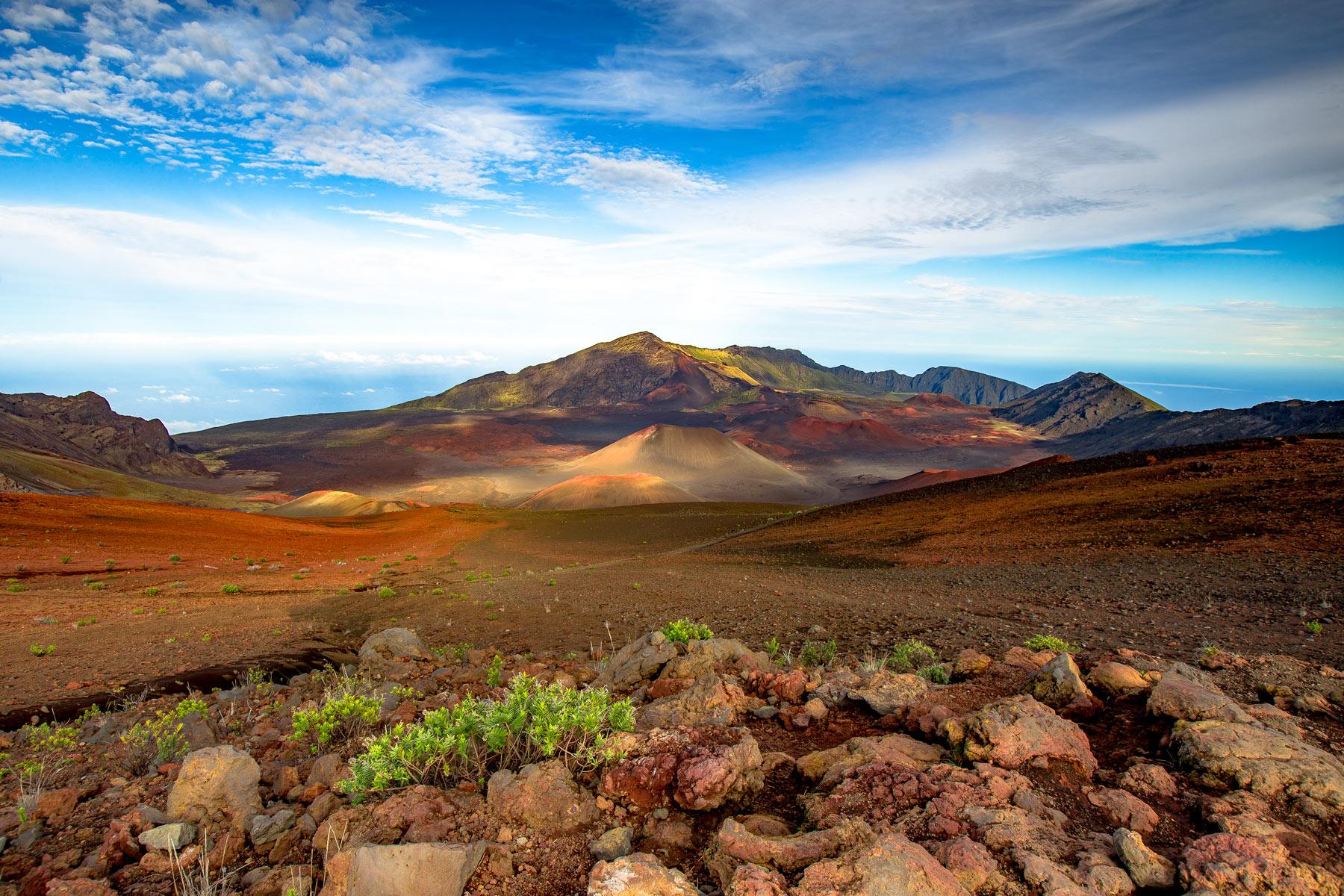 haleakala national park crater maui, hawaii