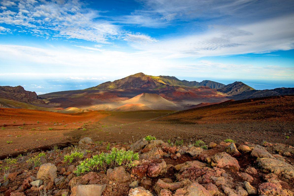 haleakala national park crater