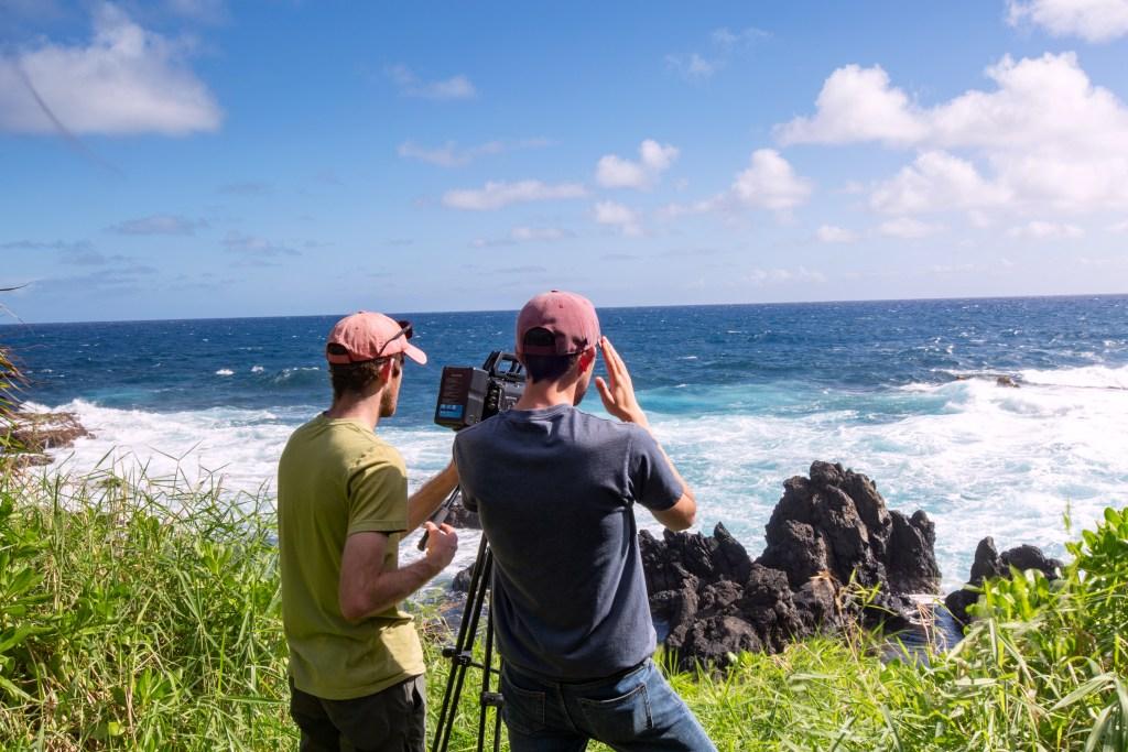 Pattiz Brothers Filming In Haleakala National Park maui, hawaii