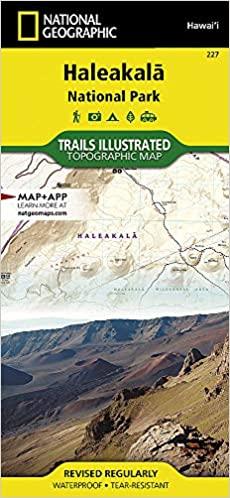 Nat Geo Haleakala Park Map