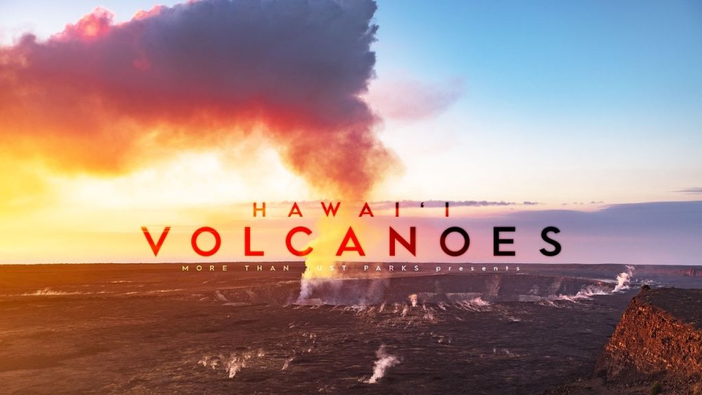 hawaii volcanoes national park video