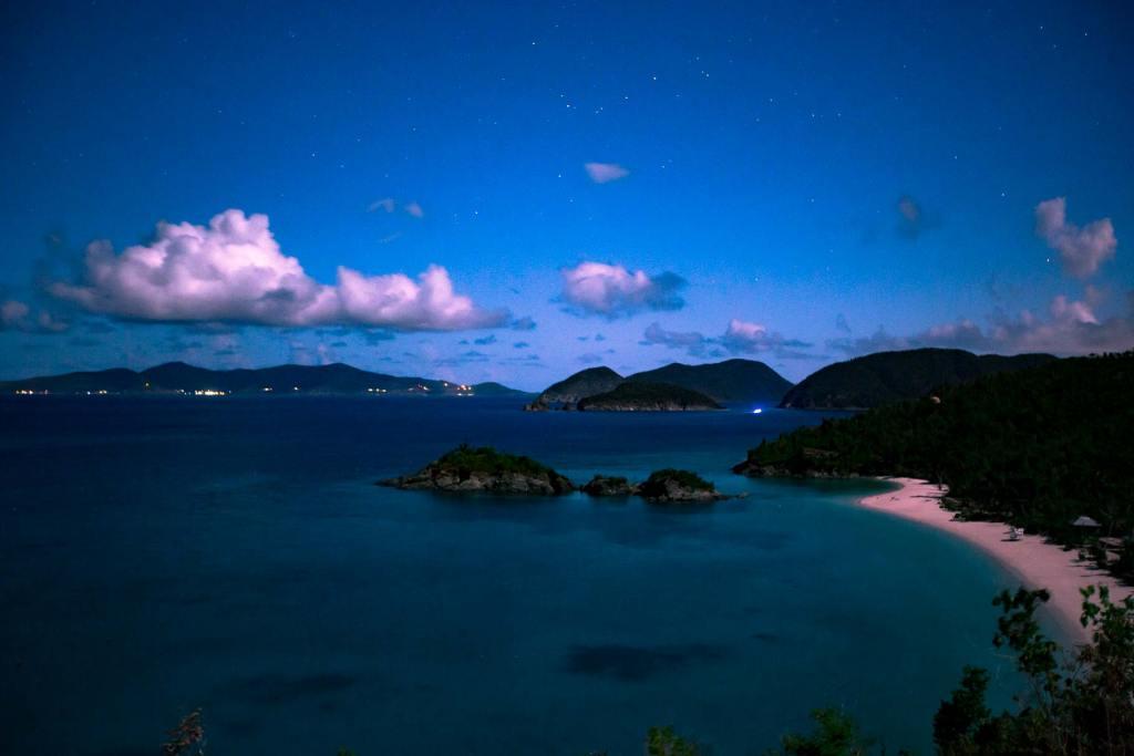 virgin islands national park stars
