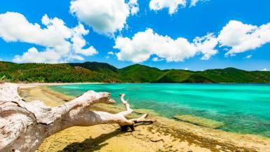 virgin islands national park bay